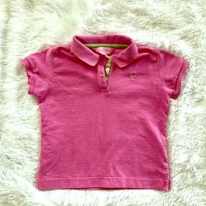 💕 3 for $10 💕 Dark pink girls Lily Pulitzer polo